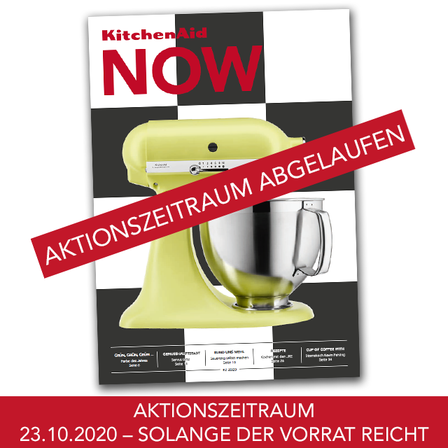 GRATIS KitchenAid – Magazin NOW