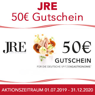 JRE 50€ Gutschein